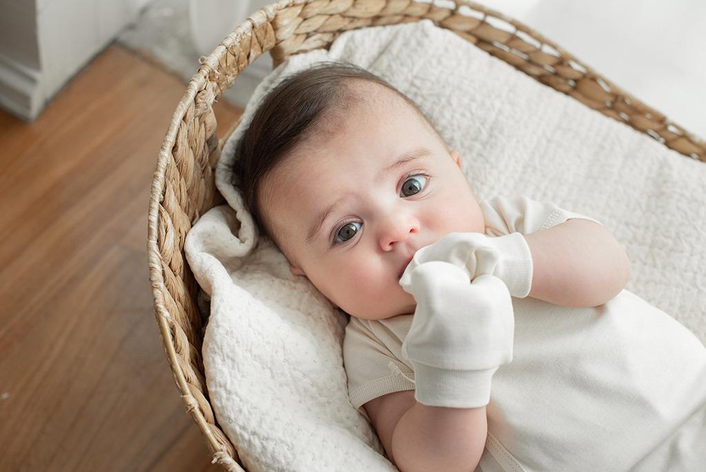 Luvas para recém-nascido